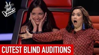 Video The Voice Kids | CUTEST Blind Auditions [PART 2] MP3, 3GP, MP4, WEBM, AVI, FLV Juli 2018