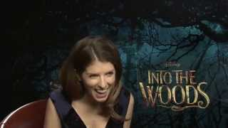 """Anna Kendrick: """"Chris Pine is a sneaky bastard"""" - Into The Woods interview"""