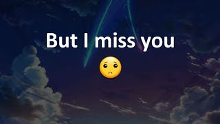 i miss you status video