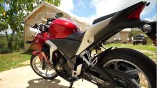 11. 2012 Honda CBR 250R Review | Walk Around |  Great Bike for new Riders!