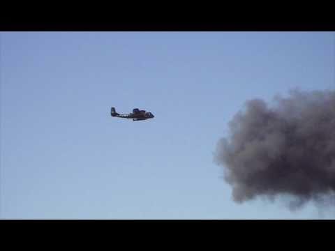 Legacy Airplane flybys at AirFest...