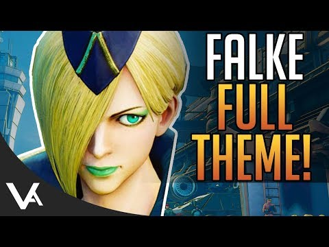 SFV - Falke Full Theme Song For Street Fighter 5 Arcade Edition! Extended OST (видео)
