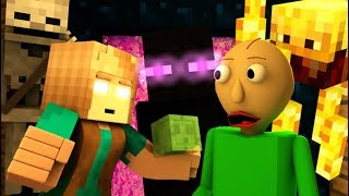 Video MONSTER SCHOOL VS BALDI'S BASICS CHALLENGE! (official) Minecraft Horror Game Animation Video MP3, 3GP, MP4, WEBM, AVI, FLV September 2018
