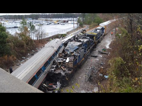 Latest Amtrak incident third deadly crash in less than two months
