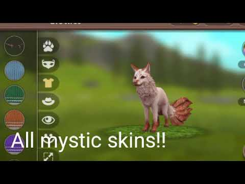 All mystic skins account in wildcraft(read desc)