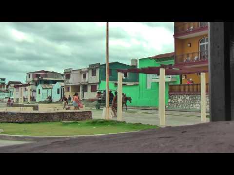 Cuban life in the streets of Baracoa Cuba