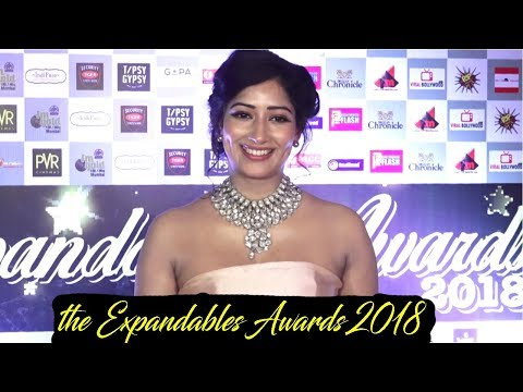 Niharica Raizada At Red Carpet Of Expandables Awards 2018