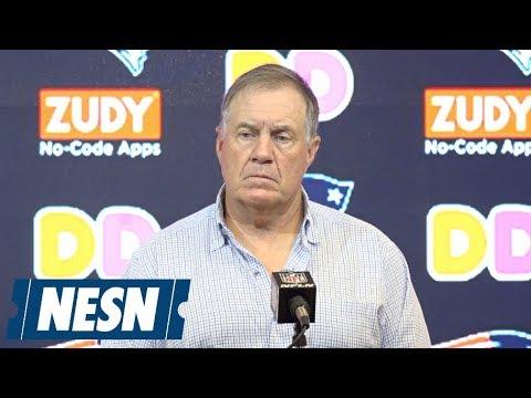 Bill Belichick Patriots Vs. Redskins Preseason Postgame Press Conference