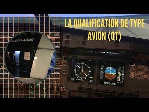 La QUALIFICATION DE TYPE AVION (QT)