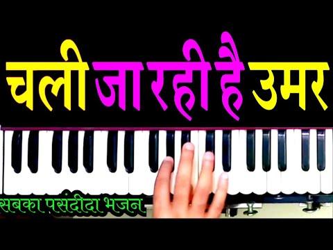 चली जा रही है उमर धीरे धीरे    harmonium sur sangam    nirgun bhajan