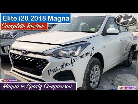 Elite i20 2018 Magna   i20 2018 Magna Interior,Exterior,Features   New i20 2018 Magna (видео)