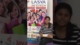 Lasya Infotech-The best in skilling!