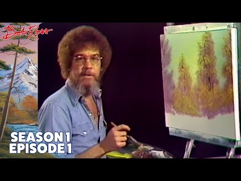 Watch Bob Ross very first painting episode