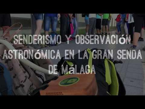 Senderismo y observación astronómica en la Gran Senda de Málaga
