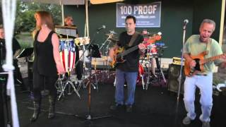 Iron Maiden drummer Nicko McBrain playing Rock n Roll by Led Zeppelin with 100 Proof Band at the Country Club of Coral ...