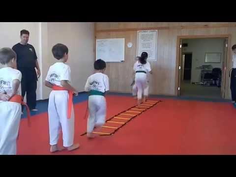 Hampton's Karate Academy - Footwork Drills 02