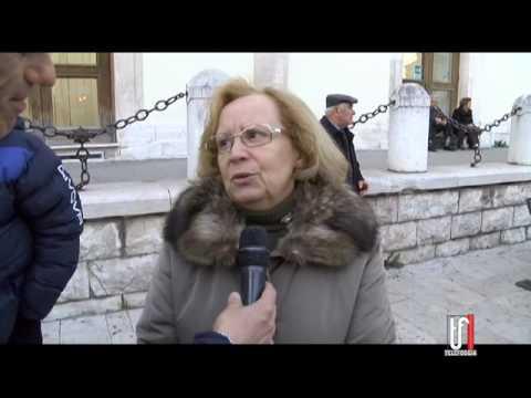 IERI IN PROCESSIONE IL SACRO TAVOLO DELL'ICONAVETERE