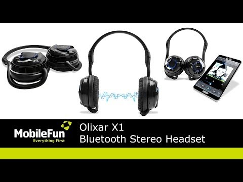 now hear this the olixar x1 bluetooth stereo headset gadgetnutz. Black Bedroom Furniture Sets. Home Design Ideas