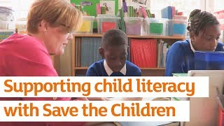 Sainsbury's Supporting Child Literacy With Save the Children