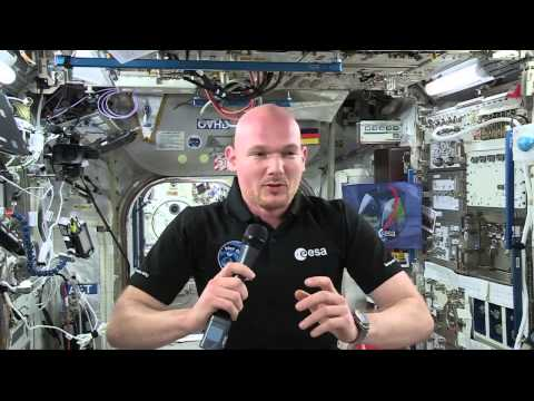 Space Station Astronaut Takes Social Media Questions