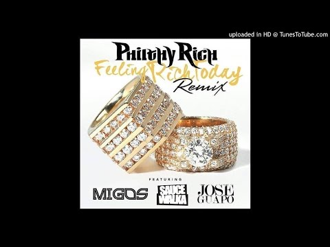 """Philthy Rich (@philthyrichFOD) featuring @Migos, @JoseGuapo and @Sauce_Walka102 - """"Feeling Rich Toda"""