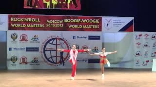 Anna Miadzielec & Jacek Tarczylo - World Masters Moskau 2013
