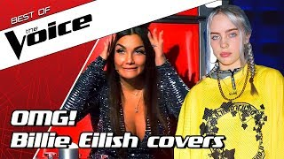 TOP 10   BILLIE EILISH SONGS in The Voice