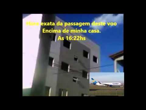 Voo DE 2351/CFG 351 Condor No traves de Paulo Afonso-Ba, Em 26/03/2016.