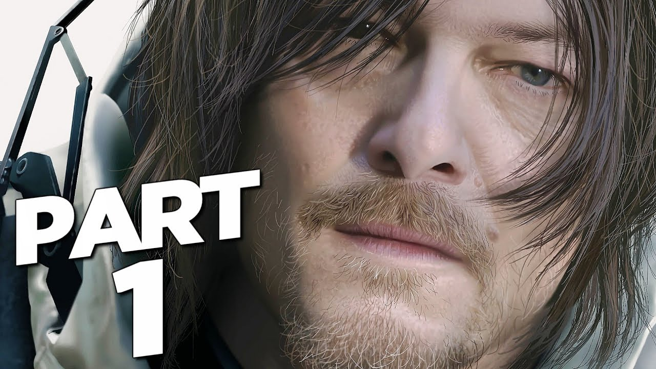DEATH STRANDING Walkthrough Gameplay Part 1 - INTRO (FULL GAME)
