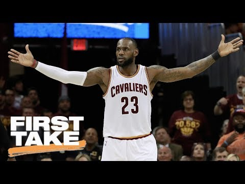 What Happened To LeBron James And Cavaliers In Game 4? | First Take | May 24, 2017