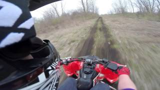 8. 2008 Polaris Outlaw 450 MXR 2016 Ride