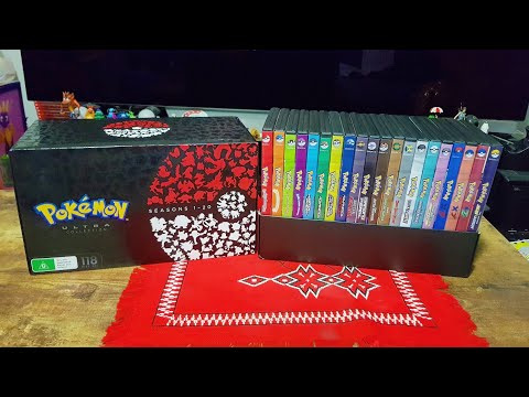 Unboxing: Pokemon Ultra Collection DVD Set - Seasons 1 - 20