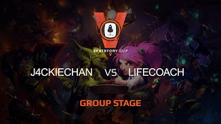 Lifecoach vs J4CKIECHAN, game 1