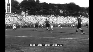 Hinspiel-Mitropacupfinale 1933: Ambrosiana Inter Mailand gegen Austria Wien: 2:1