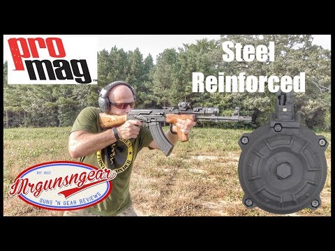 Video ProMag Steel Reinforced AK-47 Magazine and 50 Round Drum Test & Review (Epic Fail?) download in MP3, 3GP, MP4, WEBM, AVI, FLV January 2017