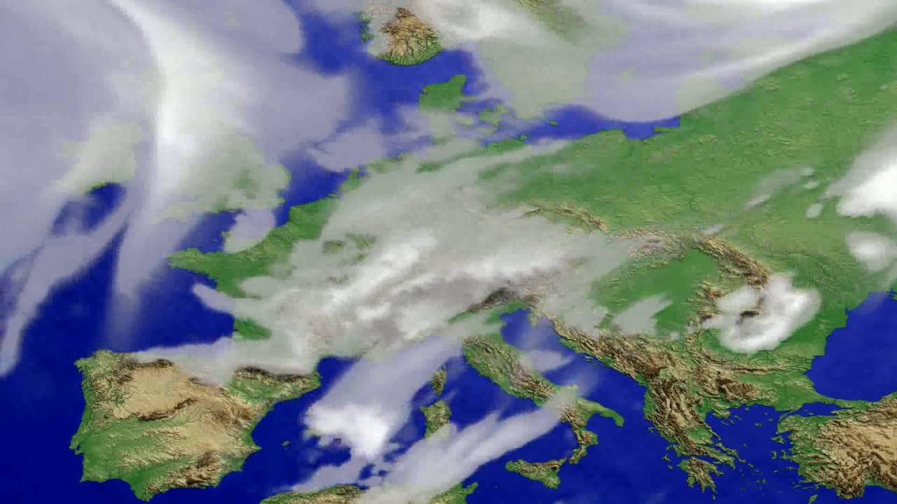 Cloud forecast Europe 2016-06-16