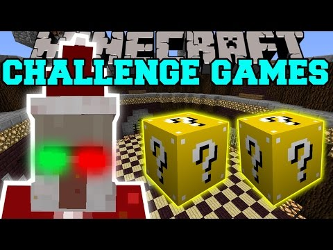 Minecraft: CHRISTMAS WITCH CHALLENGE GAMES - Lucky Block Mod - Modded Mini-Game