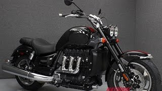 8. 2016  TRIUMPH  ROCKET III ROADSTER W/ABS - National Powersports Distributors