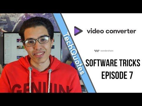 شرح برنامج Wondershare Video Converter لتحويل الصيغ و تحرير الفيديوهات - Software Tricks