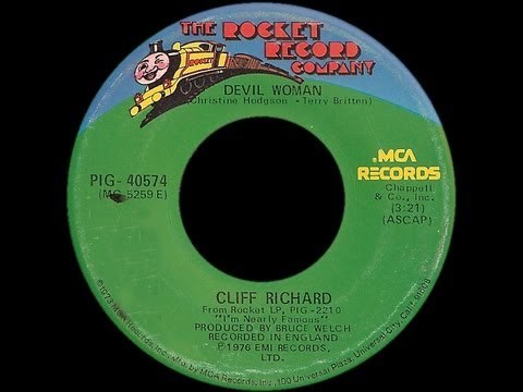 Cliff Richard ~ Devil Woman 1976 Disco Purrfection Version