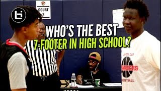Who's The Best 7-Footer In High School? Bol Bol vs Moses Brown