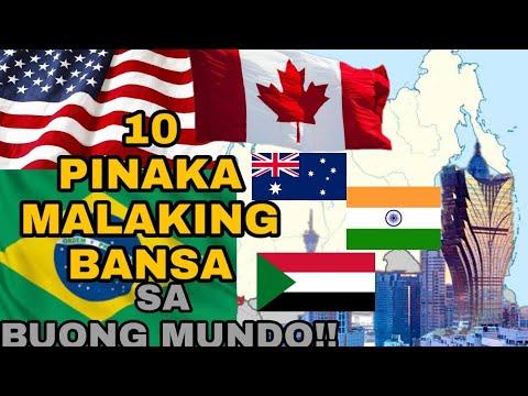 10 PINAKA MALAKING BANSA SA BUONG MUNDO!! (2020) |Biggest Country | Jason's Channel |