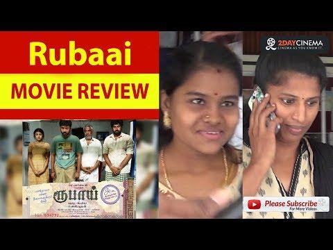 Rubaai Movie Review | Chandran | Anandhi - 2DAYCINEMA.COM