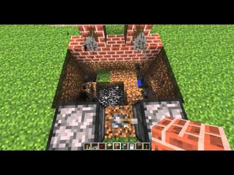 Minecraft - Tutorial de Redstone: El reloj mas rapido, cañones, y puertas secretas