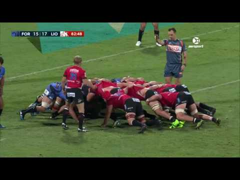 ROUND 10 HIGHLIGHTS: Force v Lions (видео)