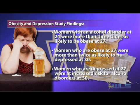 Obesity In Women Often Tied To Depression, Alcohol Abuse