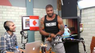 Rampage Jackson Performs 'Gangnam Style' Dance on The MMA Hour