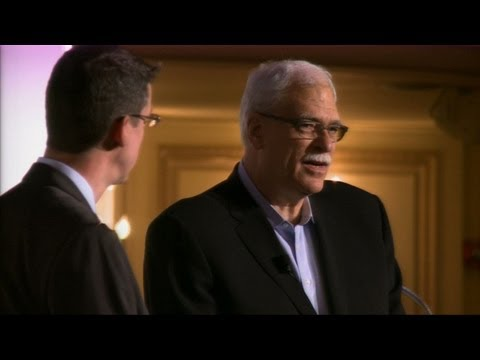 ChicagoTribune - Chicago Tribune sports columnist K.C. Johnson interviews legendary NBA coach Phil Jackson at a Printer's Row live event at the Palmer House Hilton, Chicago I...