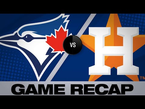 Cole, Chirinos Lead Astros Past Blue Jays | Blue Jays-Astros Game Highlights 6/14/19