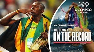 Video Usain Bolt Breaks 100m World Record in Beijing 2008   The Olympics On The Record MP3, 3GP, MP4, WEBM, AVI, FLV November 2018